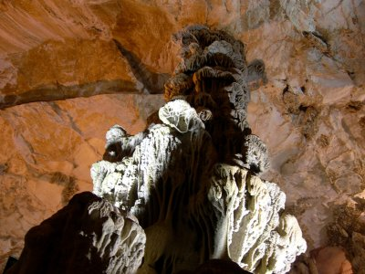 See the world's highest stalagnate on Sardinia