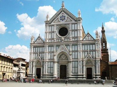 Visit the Basilica of Santa Croce in Florence