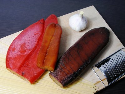Try bottarga on Sardinia
