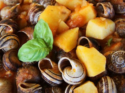 Try snails on Sardinia