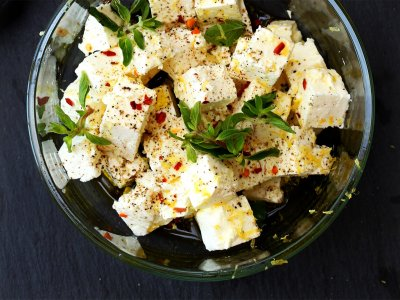 Try feta on Crete