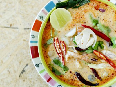 Try Tom Yam in Bangkok
