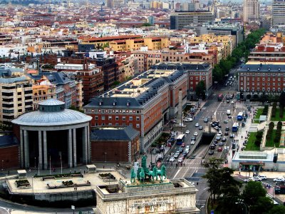 Get on the top of the Lighthouse of Moncloa in Madrid