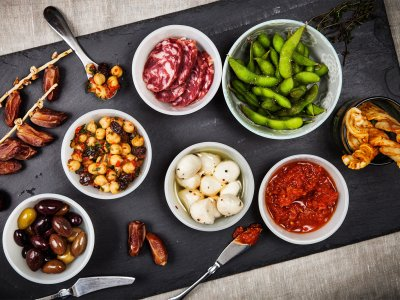 Try tapas in Madrid