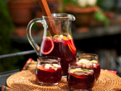 Try sangria in Madrid