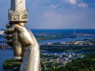 Climb to the Mother Motherland in Kiev