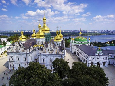 Climb to the Great Lavra Bell Tower in Kiev