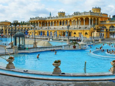 Relax in the Szechenyi Bath in Budapest