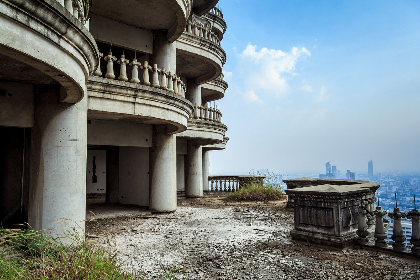 The Abandoned Sathorn Unique Tower Bangkok