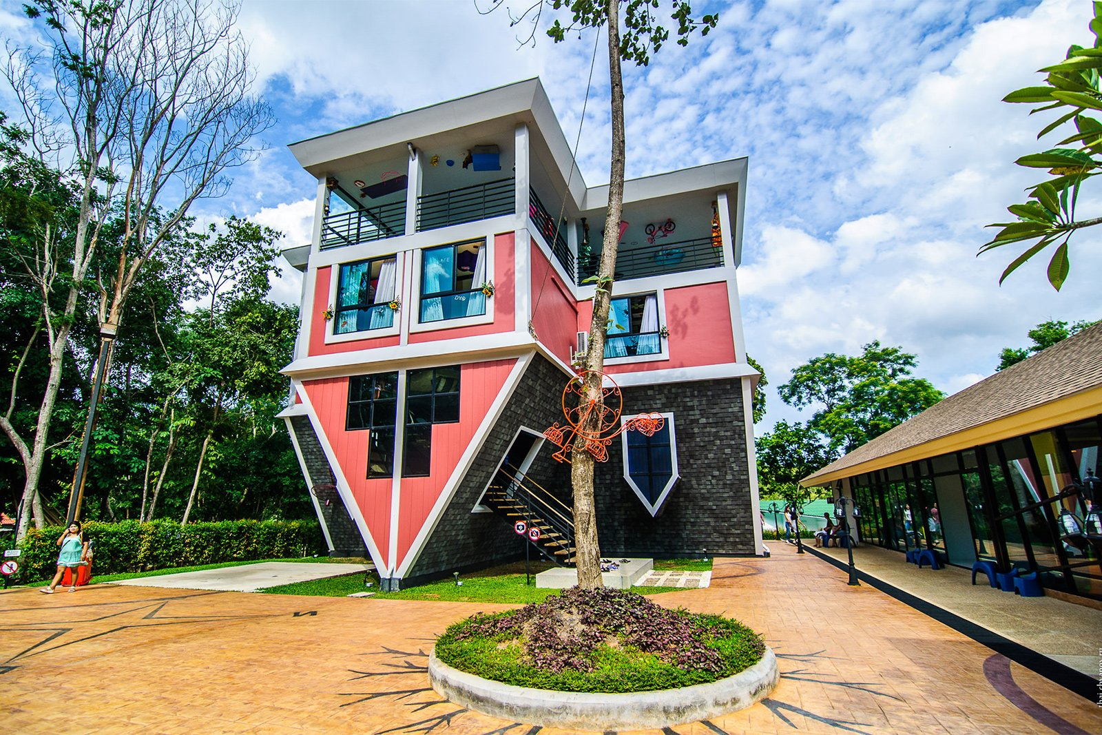 Upside down house, Phuket