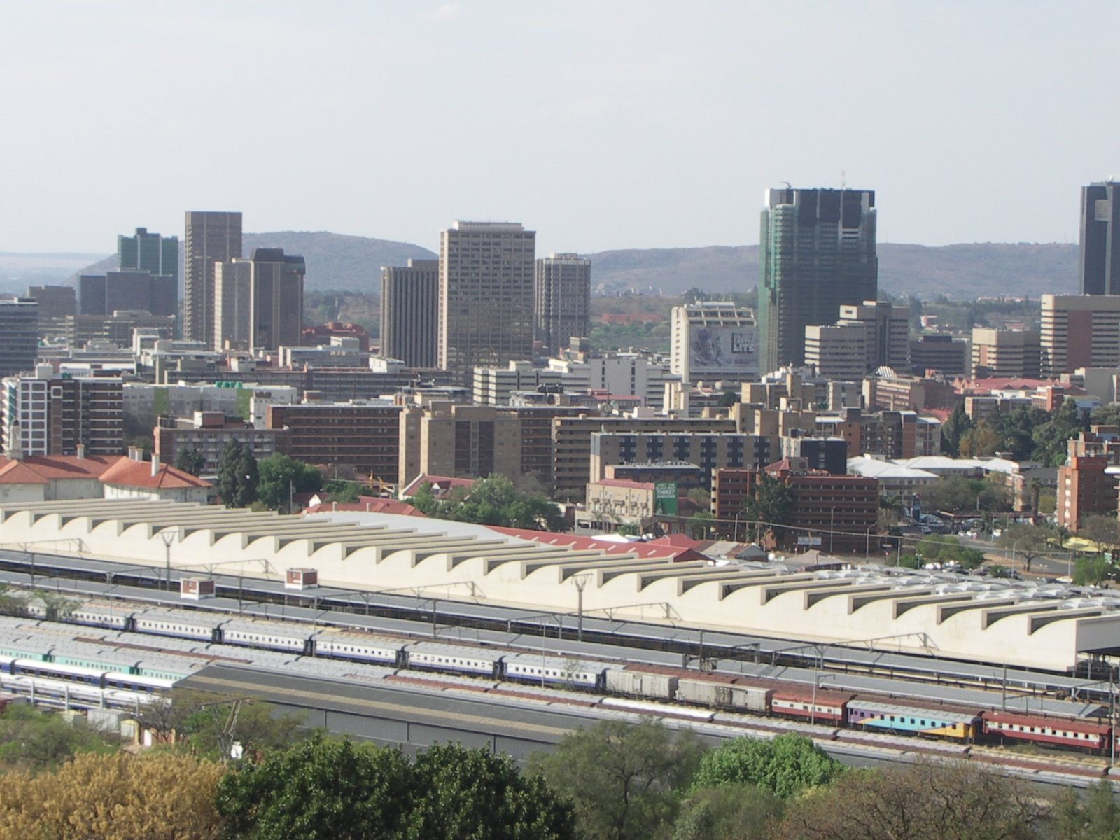 Pretoria Train Station, Cape Town