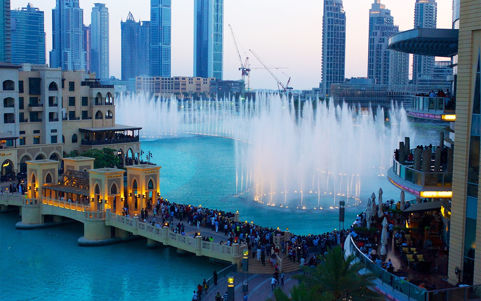 The Dubai Fountain, Dubai
