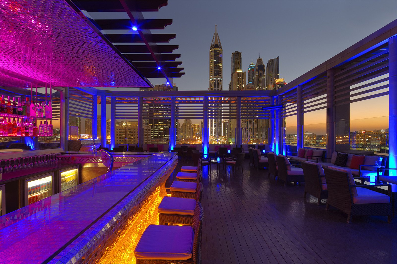 Tamanya Terrace Bar, Dubai