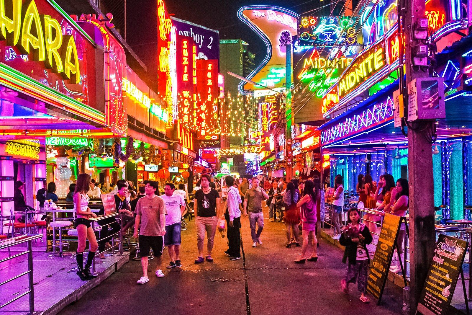 Soi Cowboy Street Bangkok
