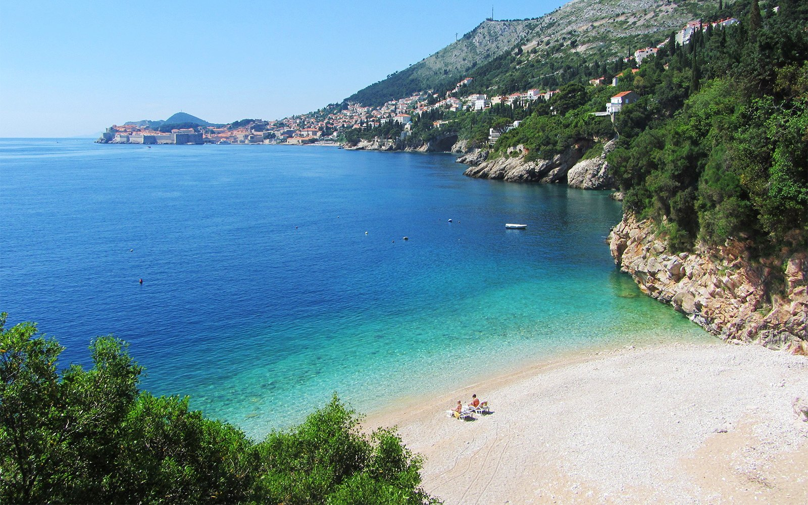 Saint Jakov Beach in Dubrovnik