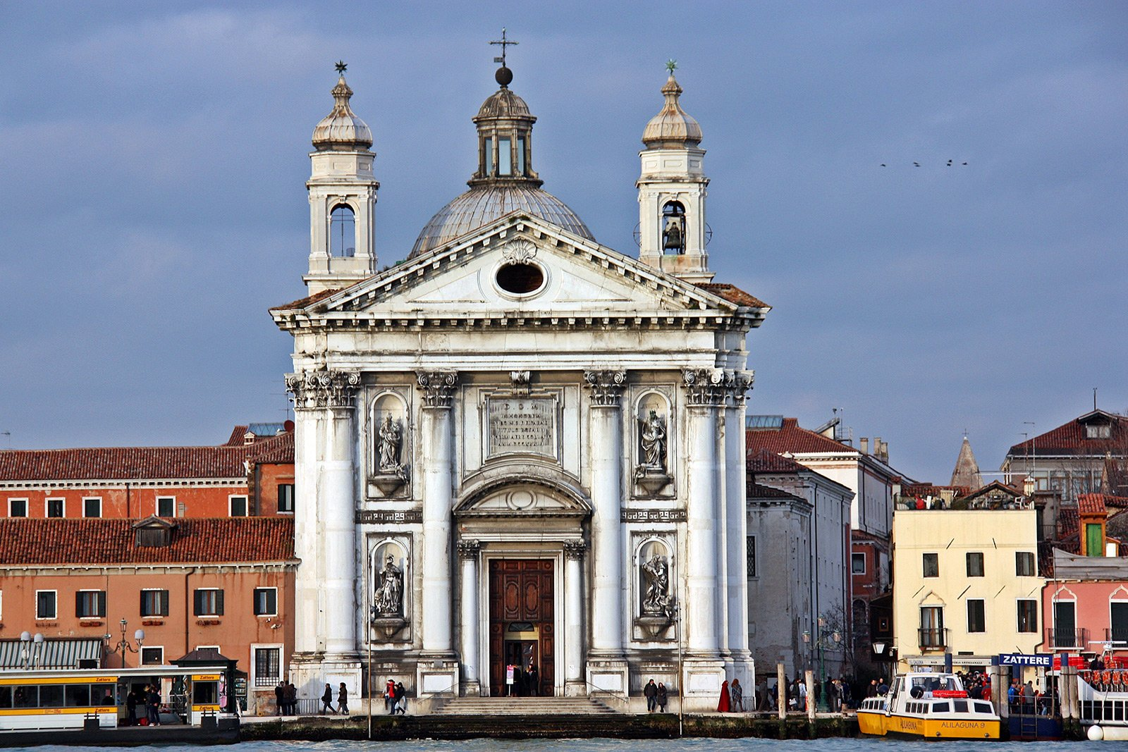 The church of Santa Maria della Pietà, Venice