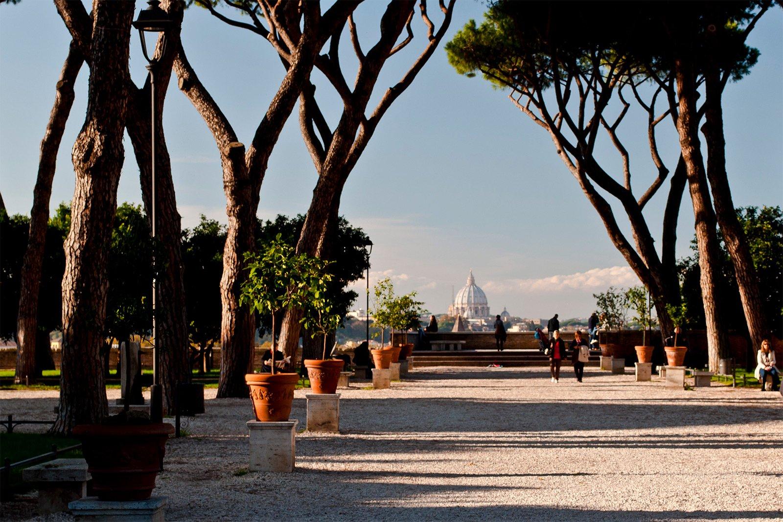 The orange garden rome - Giardino degli aranci frattamaggiore ...