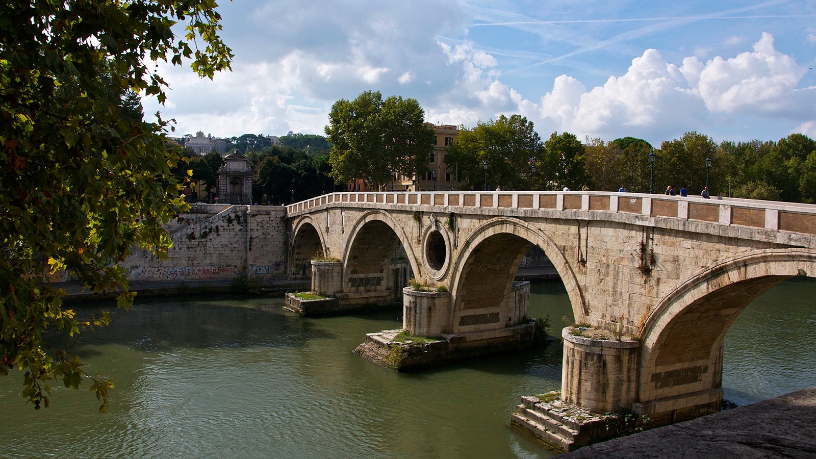 Cavour Bridge, Rome