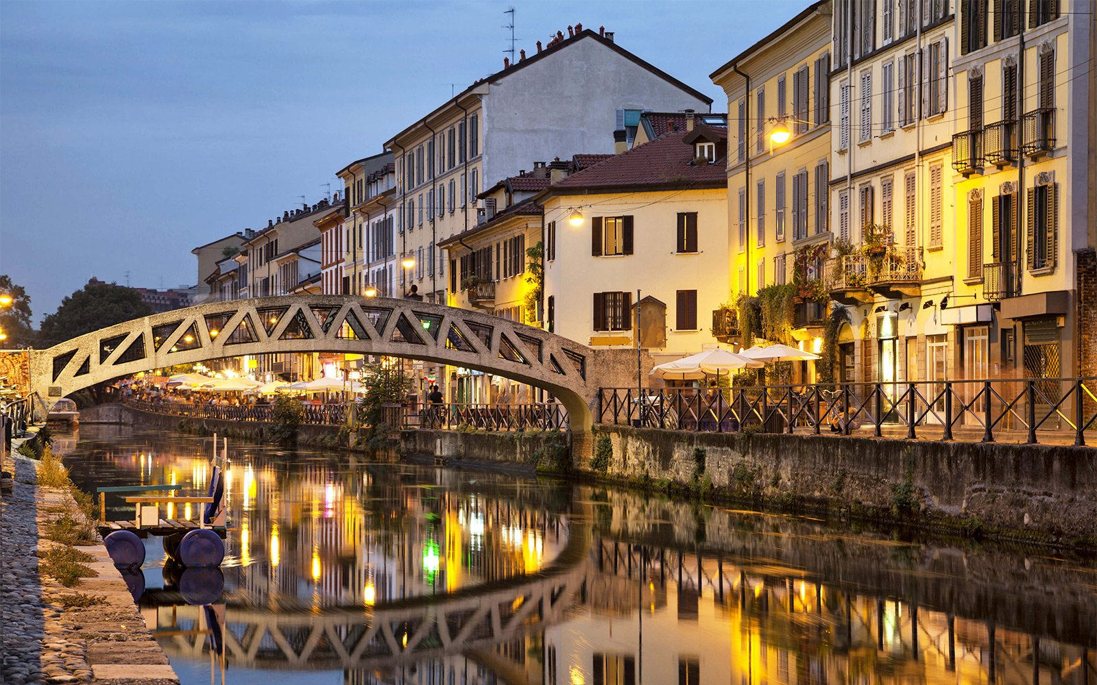 Milan's Buzzing Naviglio and How to Get there - Italy ...