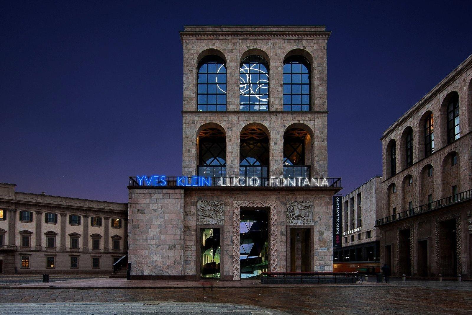 Museo Del 900 Milano.Museo Del Novecento Milan