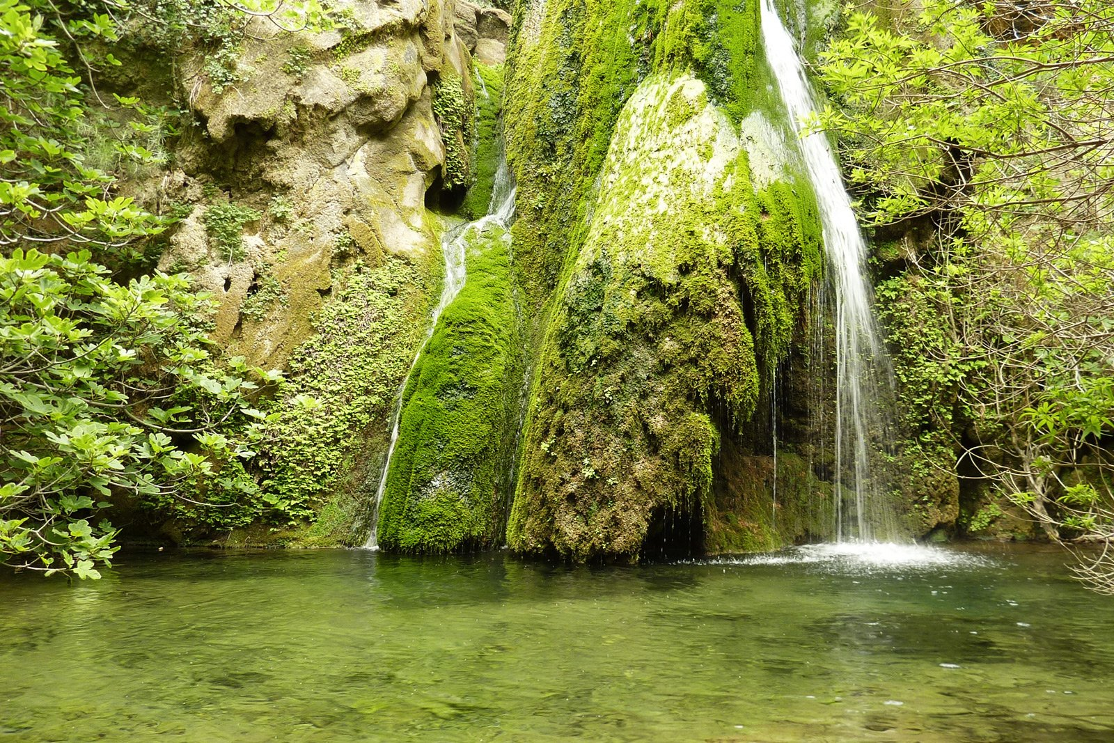 Richtis waterfall, Crete