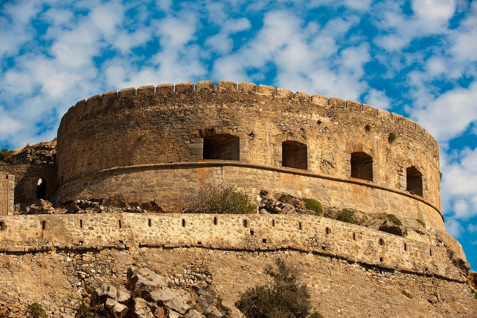 Fortress of Spinalonga, Crete