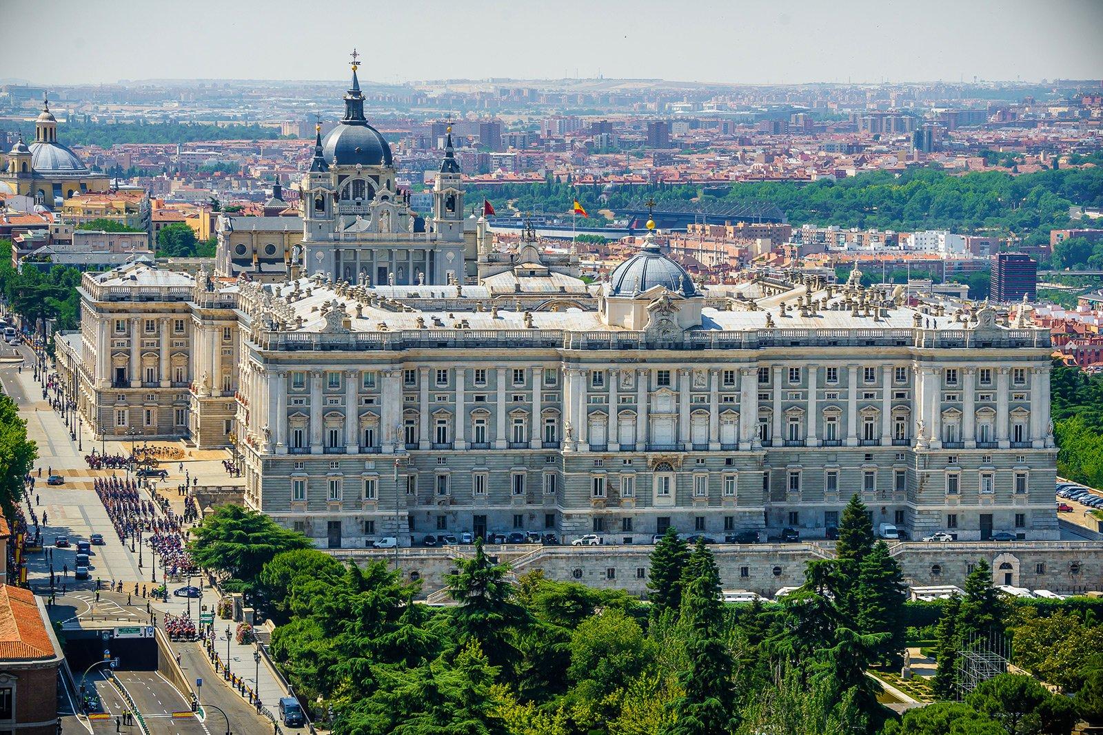 Royal palace of madrid madrid