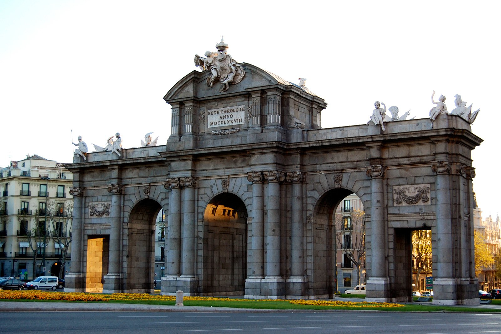 Alcalá Gate, Madrid