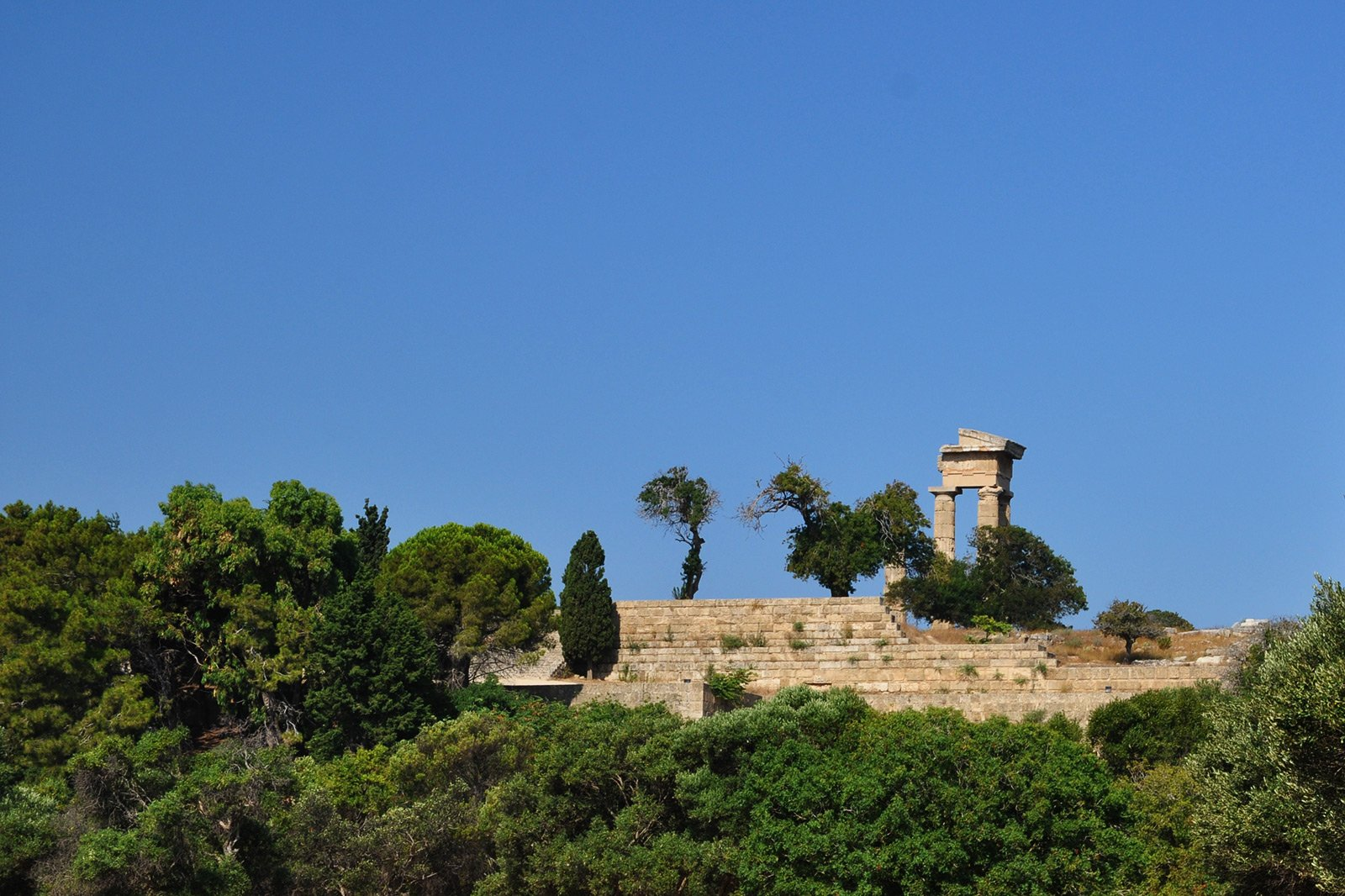The Acropolis of Rhodes, Rhodes
