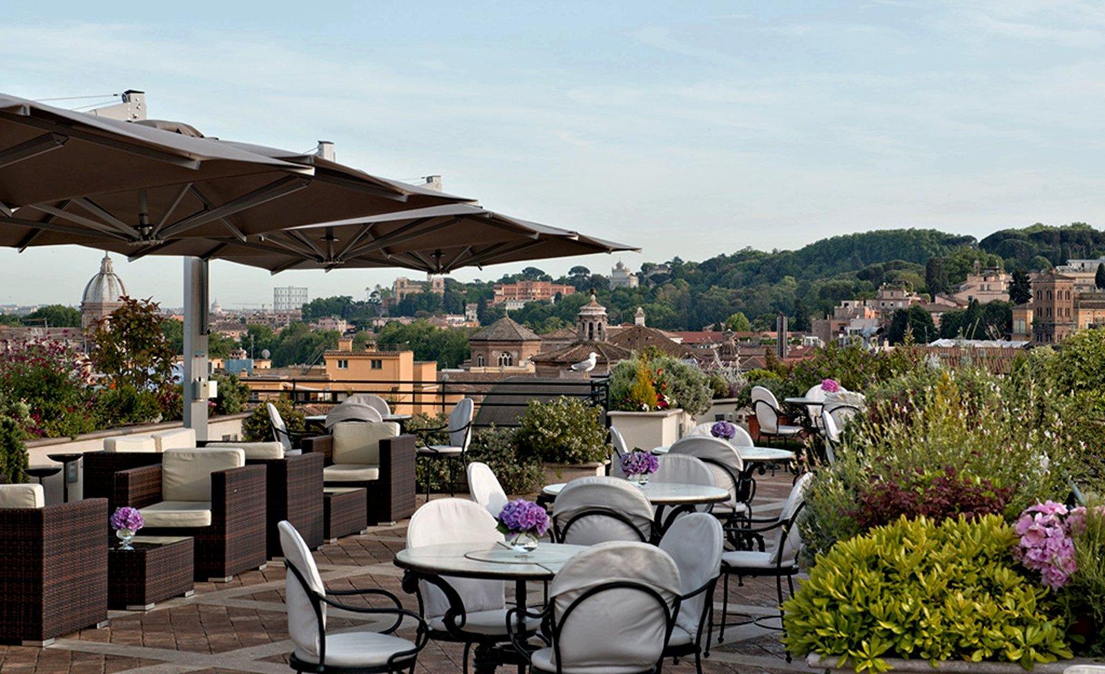 Terrazza Paradiso Restaurant, Rome
