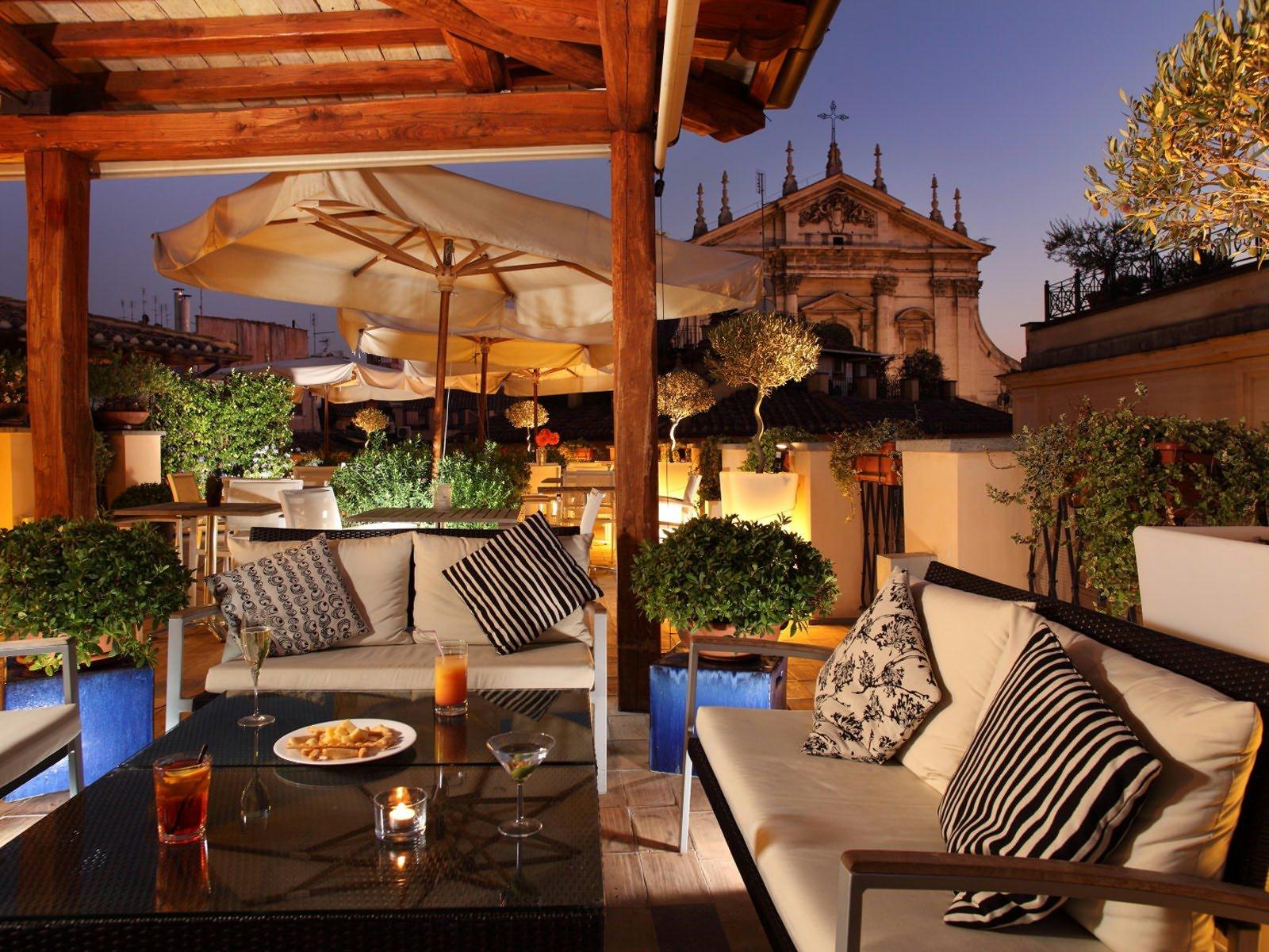 La Terrazza del Cesari Restaurant, Rome