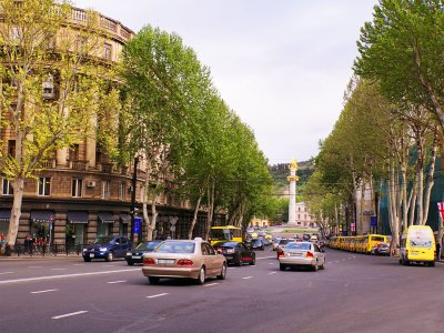 Rustaveli Avenue in Tbilisi