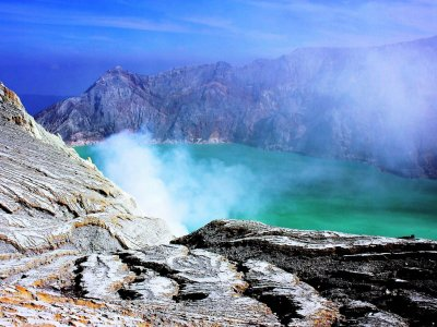 Ijen Volcano on Java island