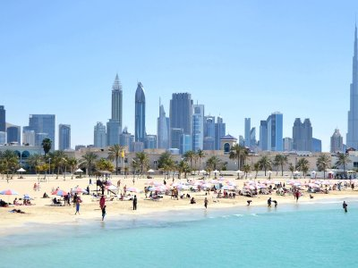 Open Beach in Dubai