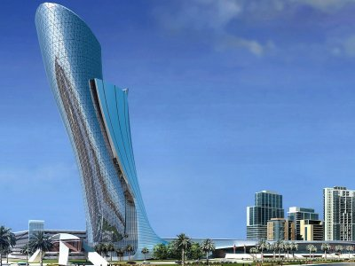The Capital Gate in Abu Dhabi