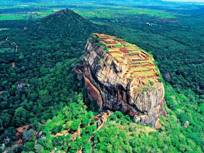 Sigiriya Lion Rock in Dambulla