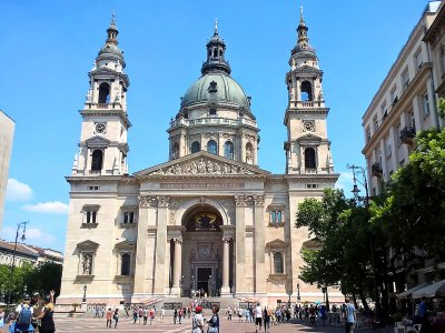 St.Stephen's Basilica in Budapest
