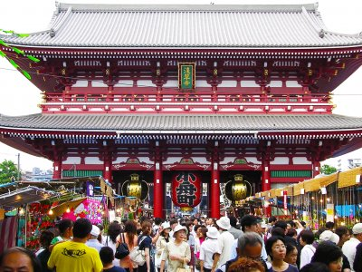 Asakusa district