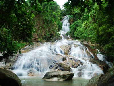 Na Muang 2 Waterfall on Koh Samui