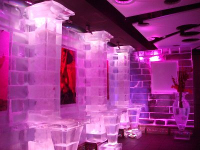 Chillout Ice Lounge in Dubai