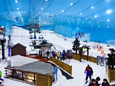 Ski Dubai: The Ski Resort in the Desert
