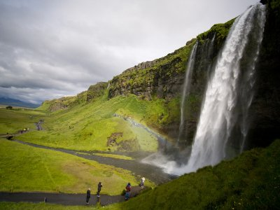 Seljalandsfoss Waterfall in Reykjavik