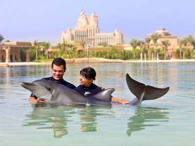 The Dolphin Bay in Dubai