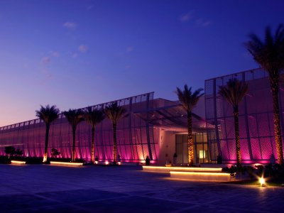 The Manarat Al Saadiyat Museum in Abu Dhabi