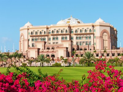 Hotel Emirates Palace in Abu Dhabi