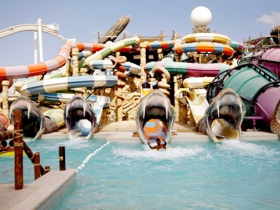 Yas Waterworld Waterpark in Abu Dhabi