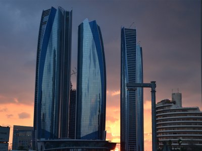 Jumeirah at Etihad Towers Hotel in Abu Dhabi