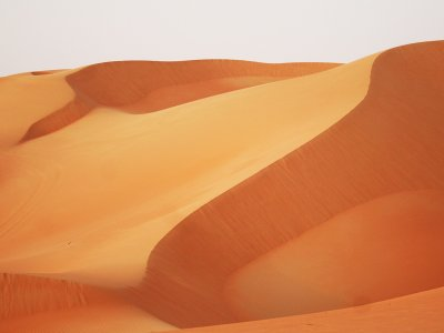 Big Red Sand Dune in Dubai