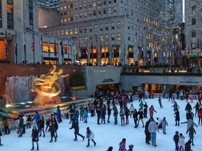 The Rink at Rockefeller Center in New York