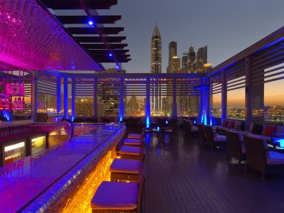 Tamanya Terrace Bar in Dubai